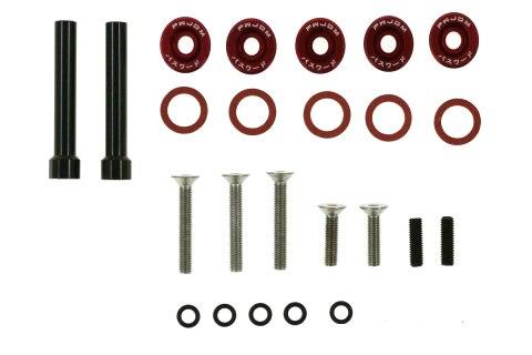 Śrubki Pokrywy Zaworów Honda Civic D-Seria JDM red - GRUBYGARAGE - Sklep Tuningowy